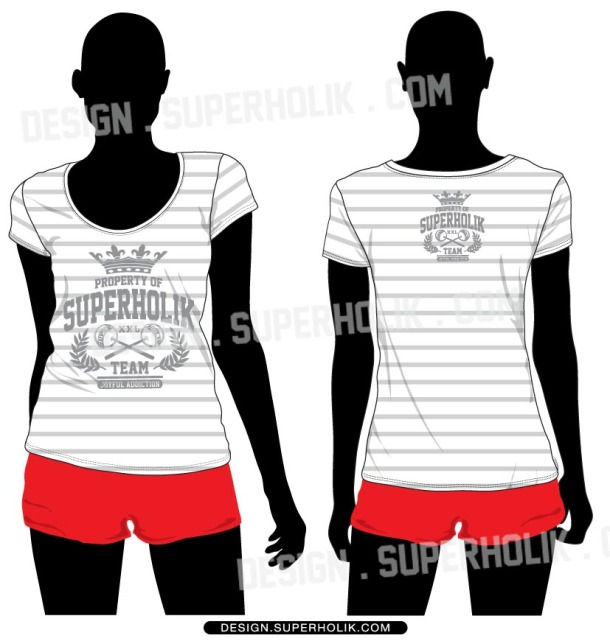 tee shirt vector body