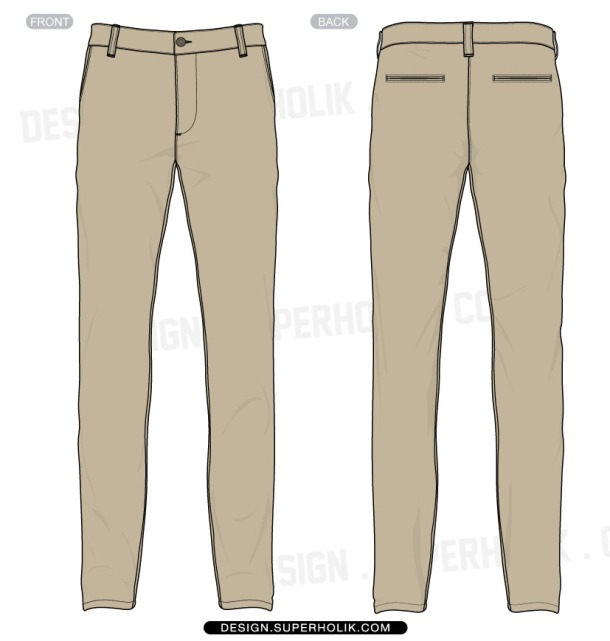 trousers template