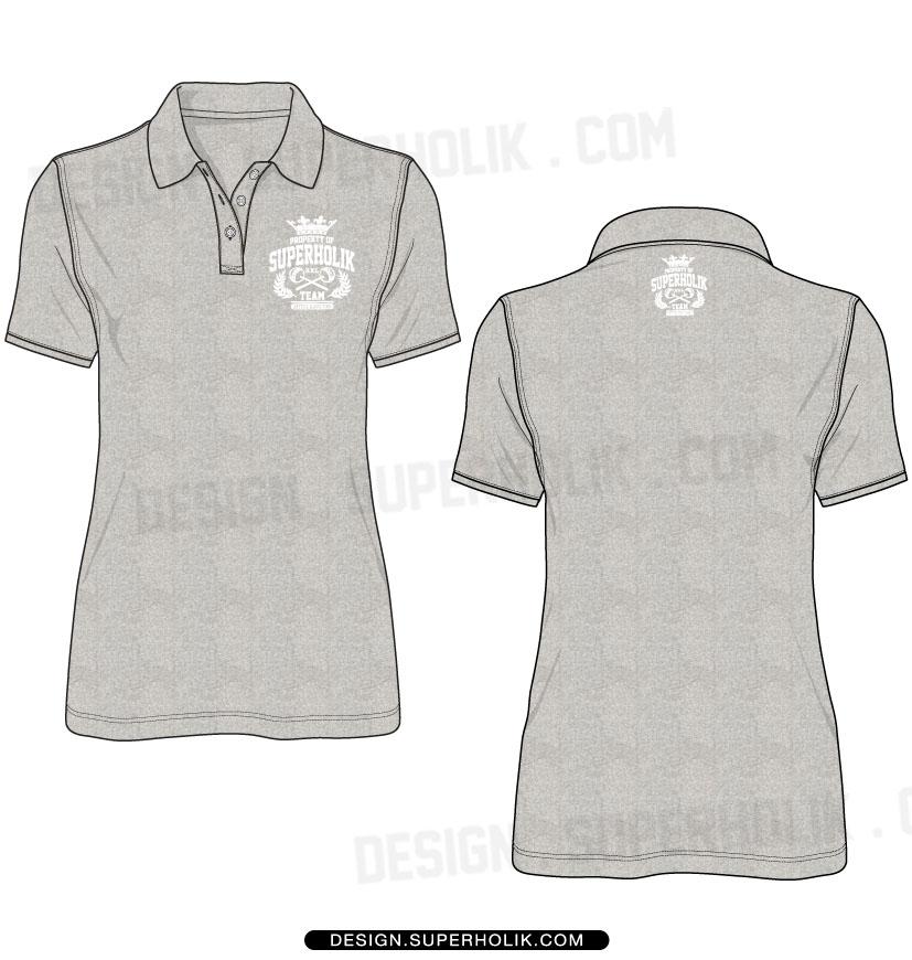 Polo shirt template vector   hellovector