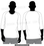shirt template vector