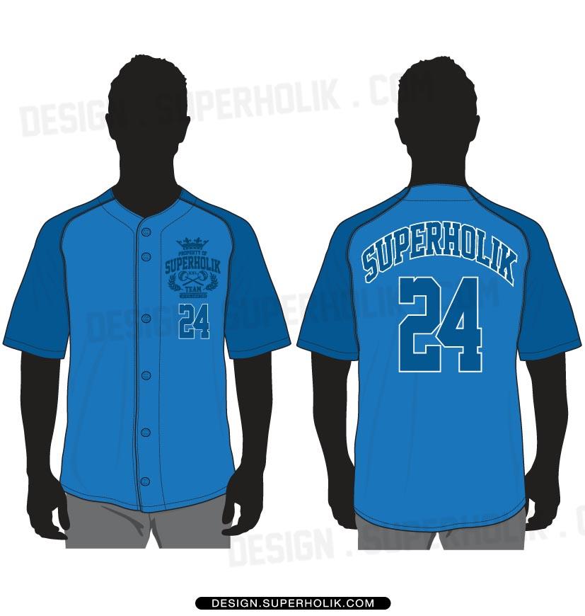 Baseball Jersey vector template set