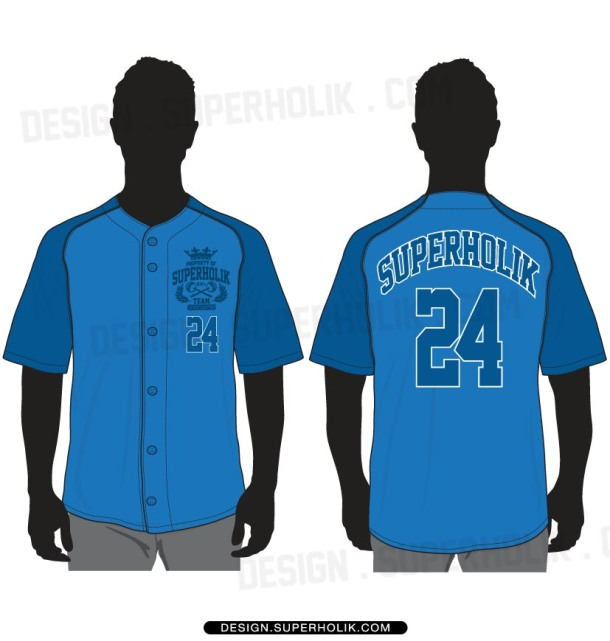 Baseball Jersey vector template set