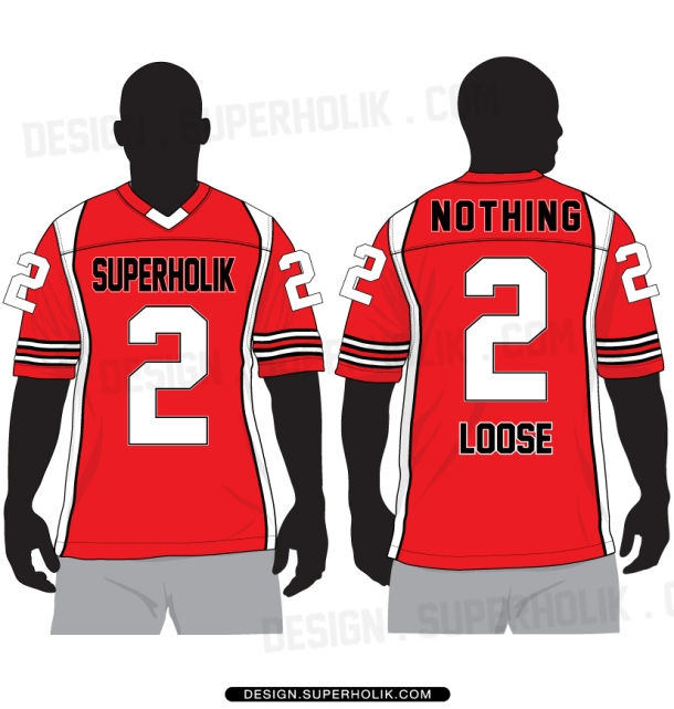 Football Jersey Vector Template