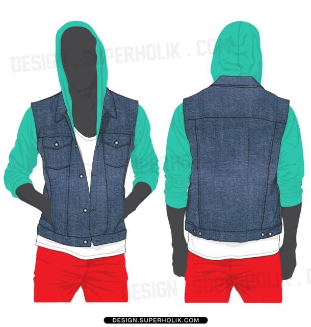 vest template