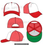 trucker cap template