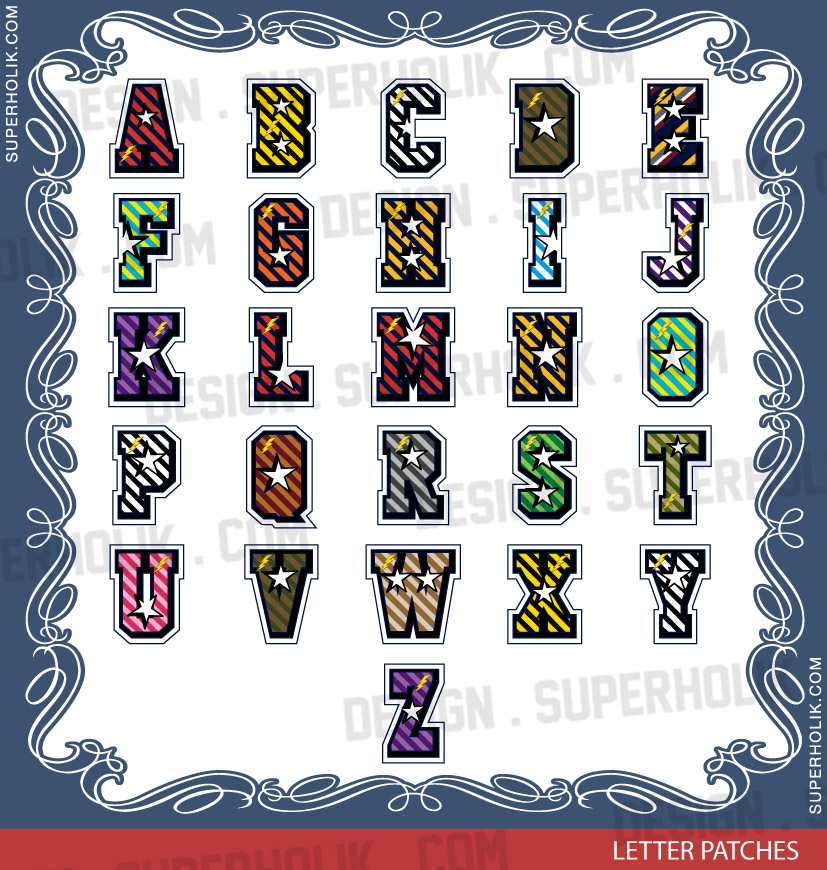 letter design vector template