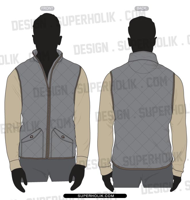 Quilting vest template